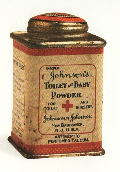 Early Baby Powder Tin