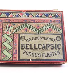 Dr. Grosvenor's Bellcapsic Plasters