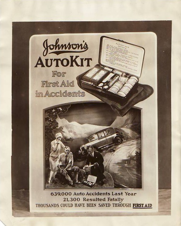 Johnson & Johnson First Aid Ad