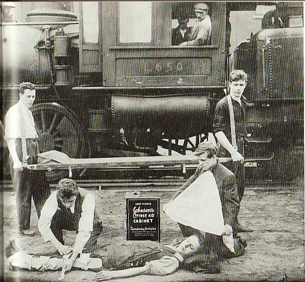 Railroad First Aid Demonstration