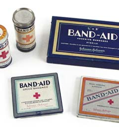 BAND-AID® Brand Adhesive Bandages 1920s - 1930s