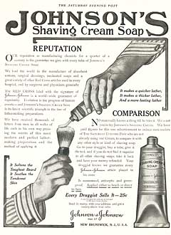 Shaving Cream Soap Ad