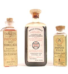 Early Papoid Products