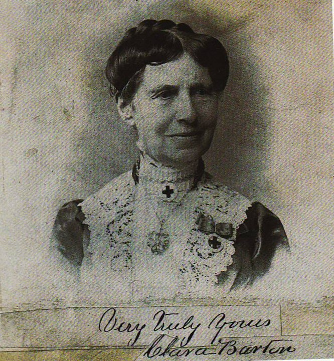 clara barton essay Even though undefined, clara barton and abraham lincoln set a good strong example about the american patriotism during the time of the civil war ii body – thomas jefferson's early life, politics, and presidency a.