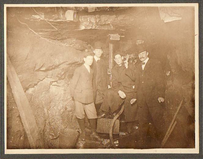 Old Water Tunnel Photo Circa 1909