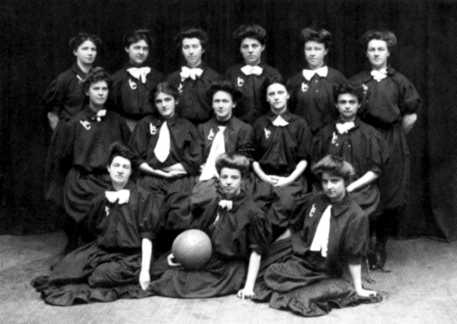 Laurel Club Women's Basketball Team, circa 1907
