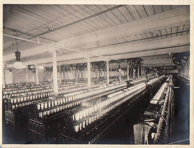 Gauze Spinning Machines, Cotton Mill