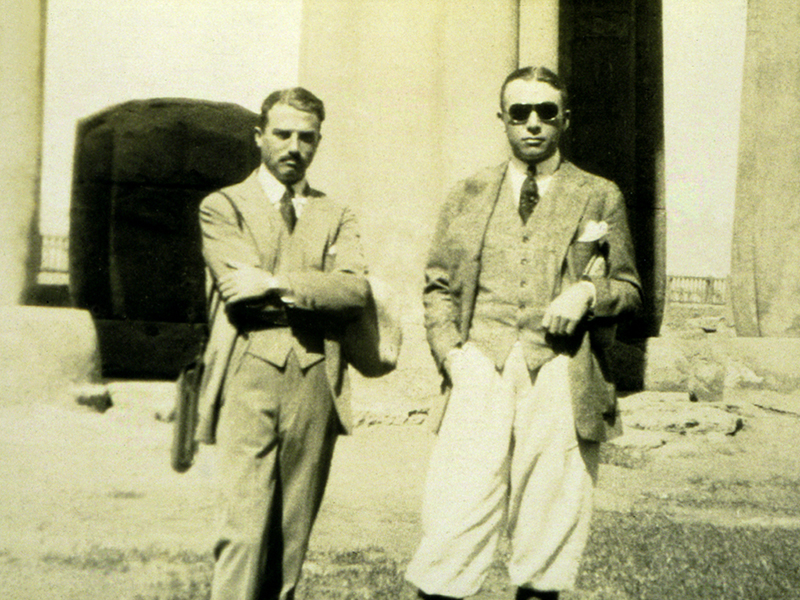 Seward Johnson and Robert Wood Johnson in Egypt