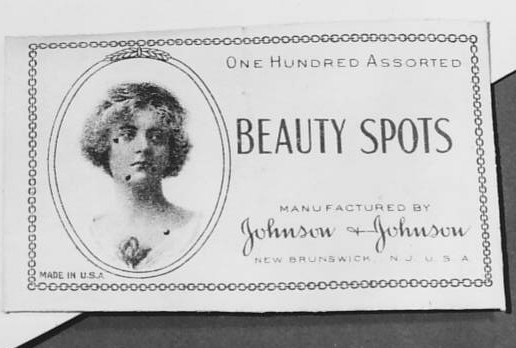Beauty Spots Package Showing Beauty Spots in Use