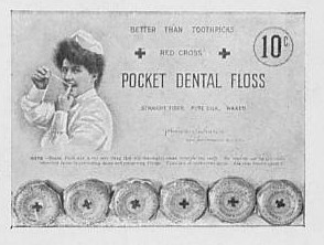 Dental Floss Show Card with Product