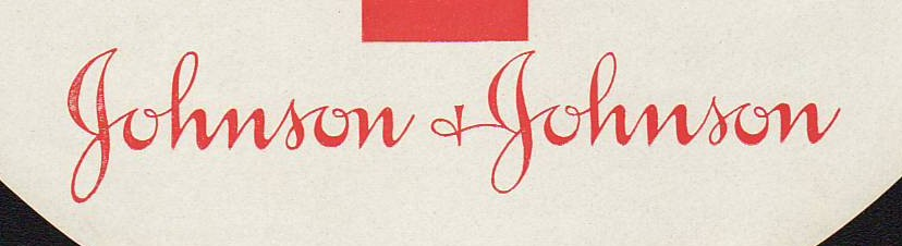 Early Example of Johnson & Johnson Logo