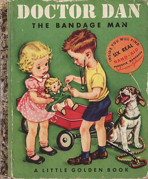 Cover of Doctor Dan the Bandage Man, 1950