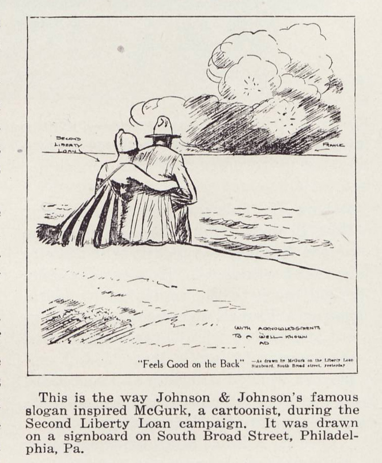 Liberty Loan Cartoon 1918