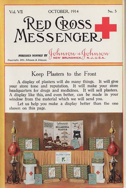 An Issue of THE RED CROSS MESSENGER, 1914
