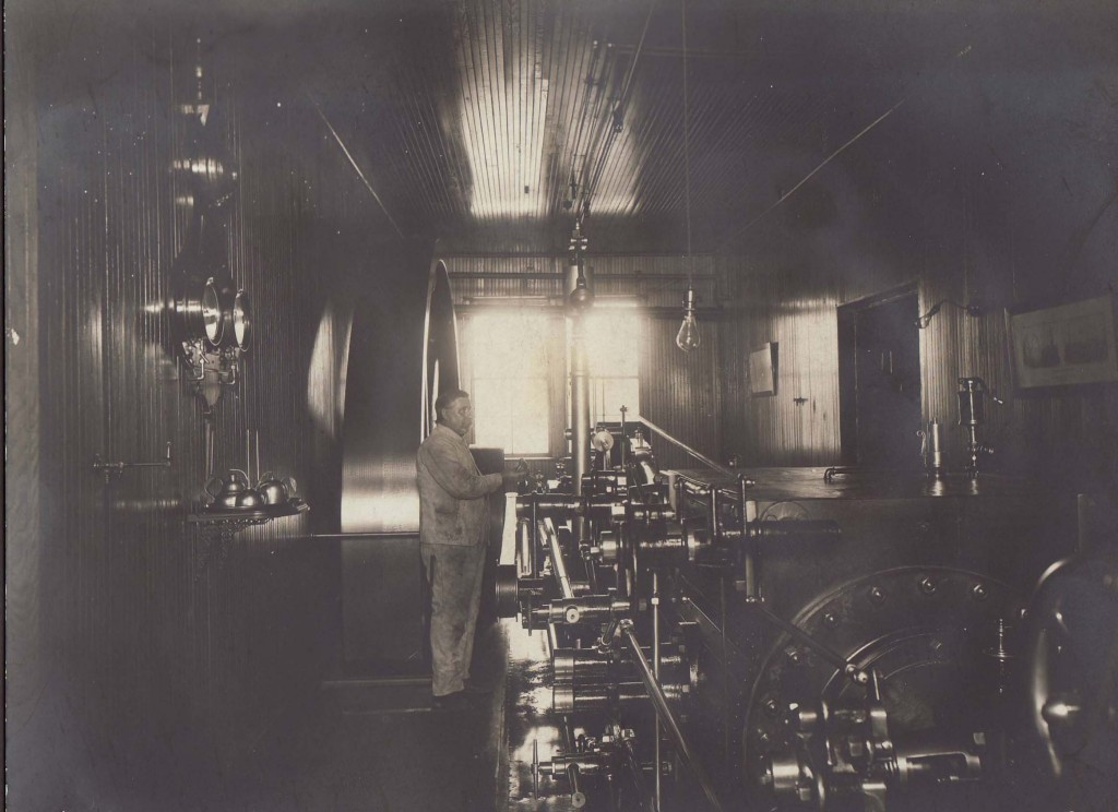 Old Mill Boiler Room 1894