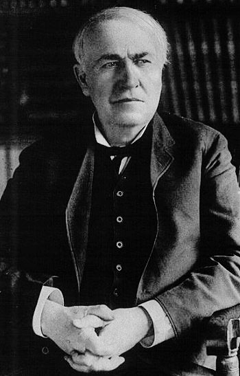 Public Domain P O Of Thomas Edison Courtesy Of The University Of Texas Li Ries The University Of Texas At Austin Via Way Of Wikimedia Commons