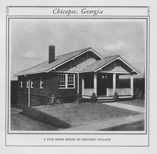 A Chicopee VIllage house, from our archives.