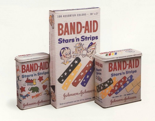 BAND-AID® Brand Stars 'n Strips, from our archives.