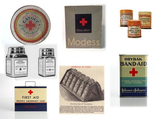 Some of the pieces of the modern world that were developed by employees at Johnson & Johnson