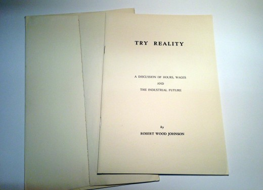 A copy of Try Reality – with matching envelope!  From our archives.