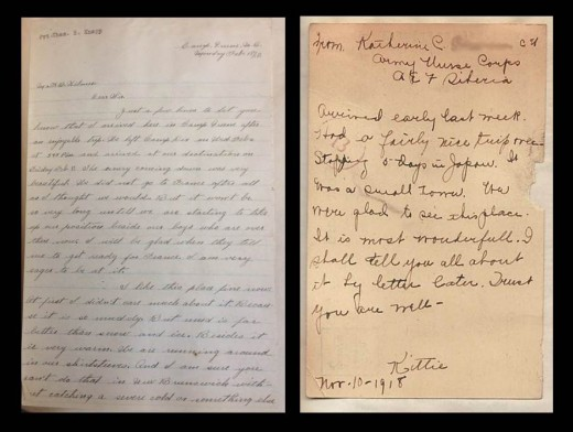 Two examples of the letters employees wrote to their colleagues, from the Johnson & Johnson archives.