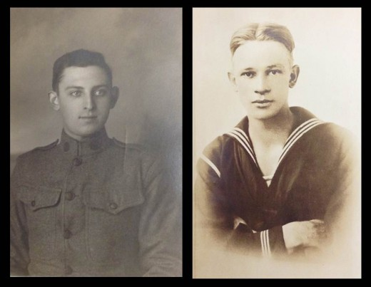Two of the many Johnson & Johnson employees who fought in World War I.  From our archives.