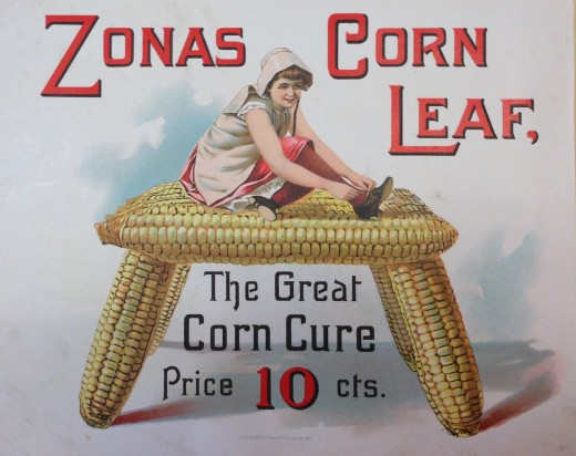 ZONAS® Corn Leaf Ad, from our archives.