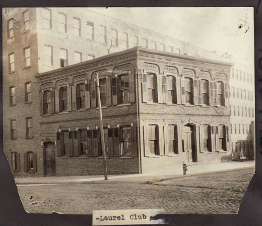 Headquarters of the Laurel Club, from our archives.