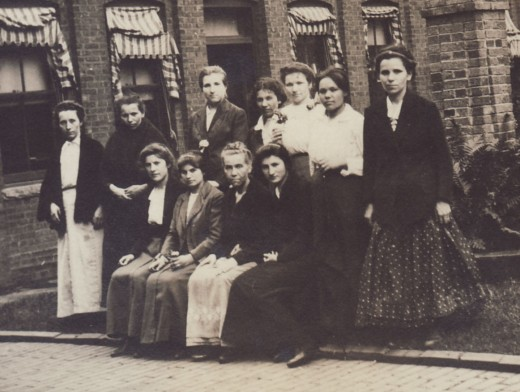 Some of the amazing women from Johnson & Johnson history pose for a photo circa 1900.  From our archives.