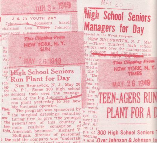 "National news clips from the 1940s highlighting the ""A Day in Modern Industry"" program.  From our archives."